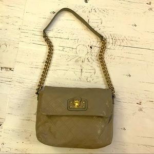 Marc Jacob quilted leather shoulder purse